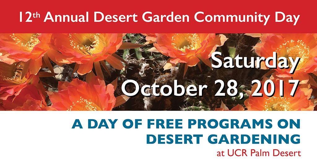 Desert Garden Community Day 2017